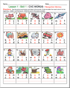 Printables Phonics Worksheets 56 free phonics worksheets and phonemic awareness activities